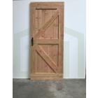 Outlet: Loftdeur Douglas voor Buiten 100 x 235 cm