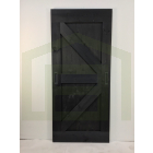 Outlet: Loftdeur Steigerhout Vintage Zwart 95 x 215 cm