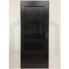 Outlet: Loftdeur Behandeld Eikenhout RAL 9005 100 x 240 cm