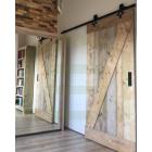 Loftdeur Gebruikt Steigerhout