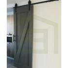 Loftdeur Steigerhout in een Krijtverf-kleur