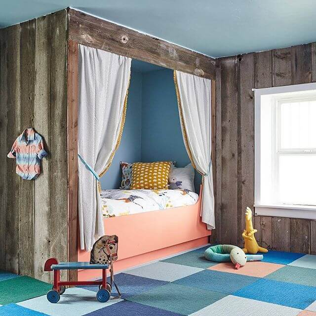 barnwood als wanddecoratie