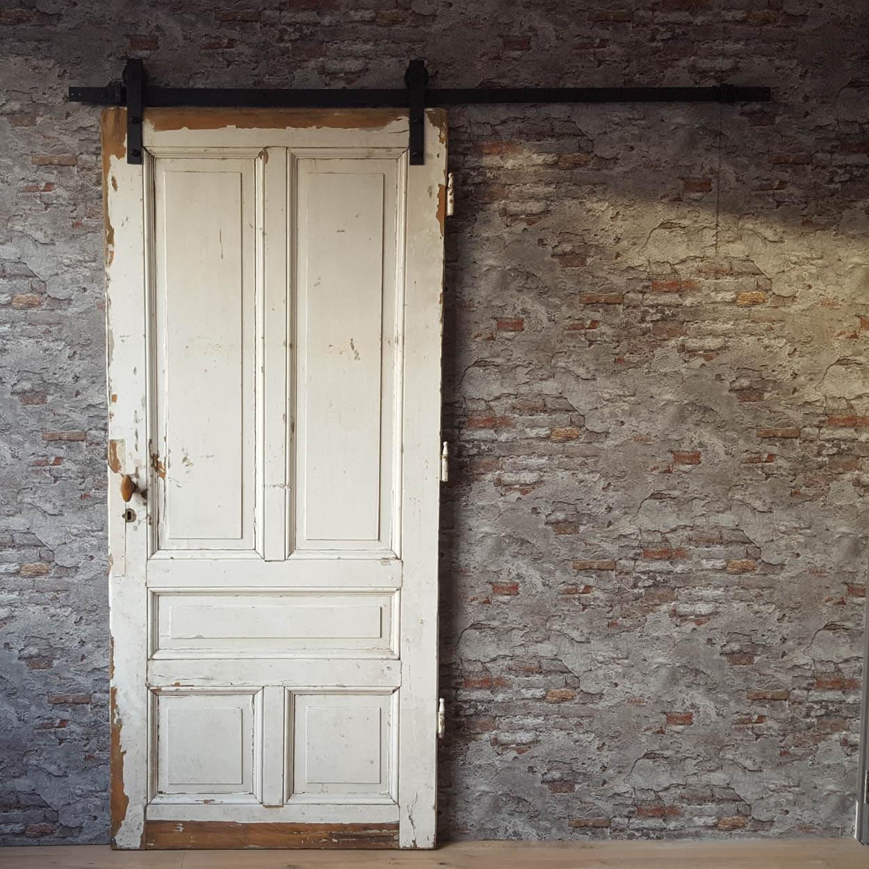 oude deur als schuifdeur